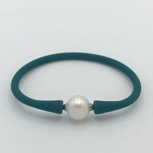 Pearl Silicon Bracelet Green Image