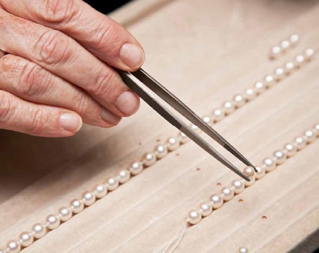 Pearl Stringing Image